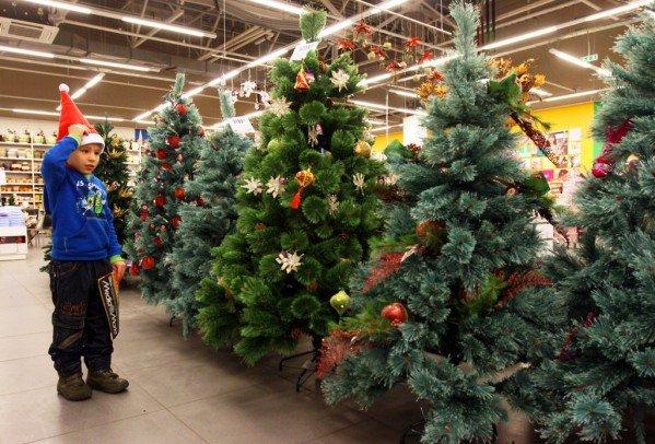 Как выбрать искусственную елку на Новый год