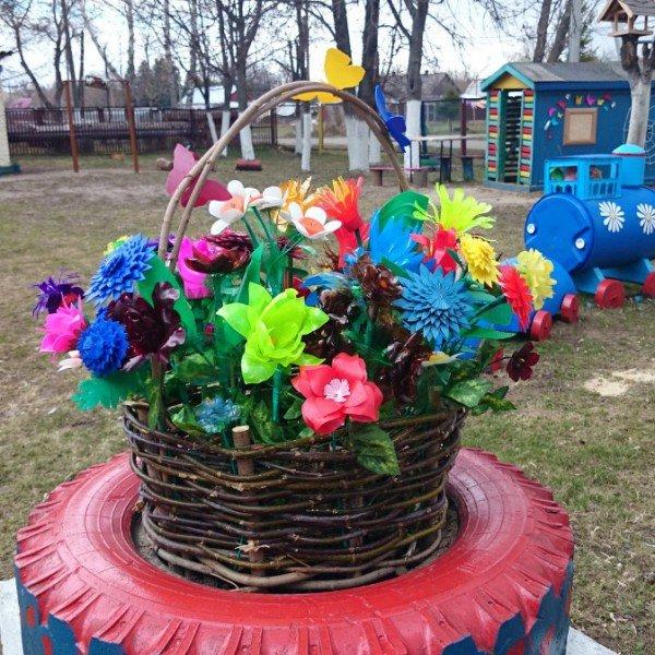 Цветы из пластиковых бутылок для сада и дачи - пошаговый мастер-класс для начинающих