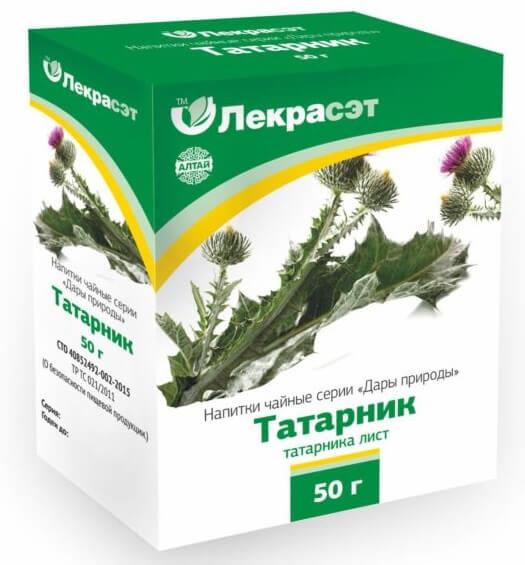 Татарник колючий – описание, польза и вред, рецепты, отзывы.