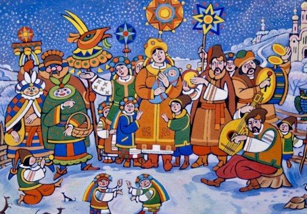 Колядки на Рождество 2019 для детей короткие и красивые