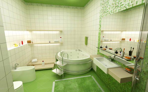 Ремонт в ванной комнате своими руками пошагово