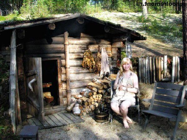 Парная баня на Руси. Немного истории как это было.