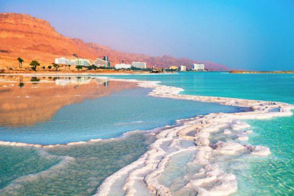 Лечение грязями Мёртвого моря